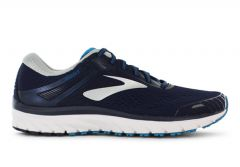 BROOKS ADRENALINE GTS 18 MENS NAVY SILVER BLUE