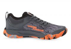 UNDER ARMOUR CHARGED ROGUE (GS) KIDS PITCH GRAY BLACK ORANGE SPARK