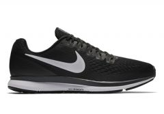 AIR ZOOM PEGASUS 34 / MENS / BLACK WHITE-DARK GREY-ANTHRACITE