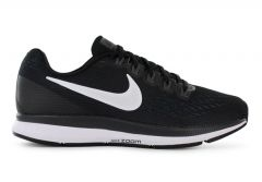 AIR ZOOM PEGASUS 34 / WOMENS / BLACK WHITE-DARK GREY-ANTHRACITE
