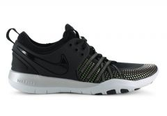 NIKE FREE TR 7 METALIC WOMENS BLACK PURE PLATINUM
