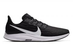 NIKE AIR ZOOM PEGASUS 36 (4E) MENS BLACK WHITE-THUNDER