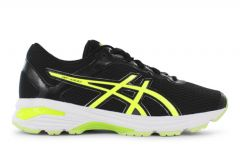 ASICS GT-1000 6 GS KIDS BLACK SAFETY YELLOW WHITE