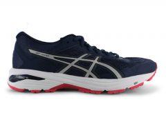 ASICS GT-1000 6 (D) WOMENS INSIGNIA BLUE SILVER ROUGE RED
