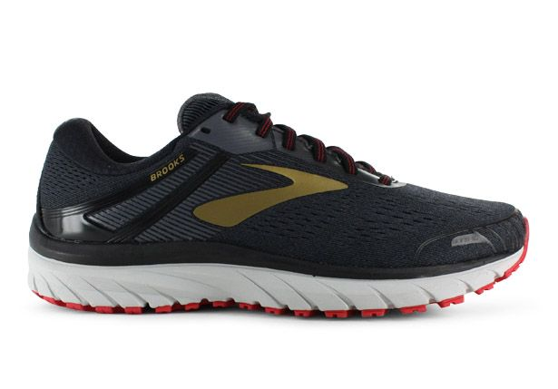 ADRENALINE GTS(18) / D / MENS / BLACK GOLD RED