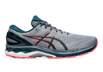 ASICS GEL-KAYANO 27 MENS SHEET ROCK MAGNETIC BLUE