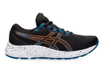ASICS GEL-EXCITE 8 (GS) KIDS BLACK MARIGOLD ORANGE