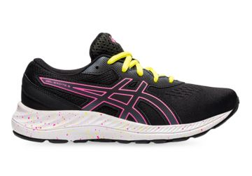 ASICS GEL-EXCITE 8 (GS) KIDS BLACK HOT PINK