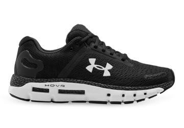 UNDER ARMOUR MENS HOVR INFINITE 2 STANDARD MENS BLACK JETGRAY WHITE