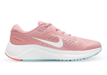 NIKE AIR ZOOM STRUCTURE 23 WOMENS PINK GLAZE WHITE OCEAN CUBE