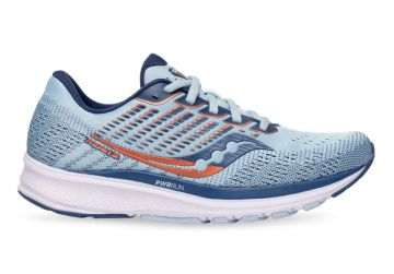 SAUCONY RIDE 13 WOMENS SKY STORM