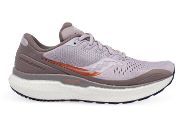 SAUCONY TRIUMPH 18 WOMENS LILAC COPPER