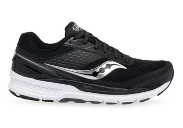 SAUCONY ECHELON 8 (2E) MENS BLACK WHITE