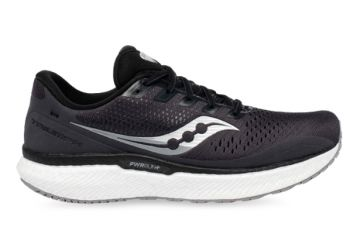 SAUCONY TRIUMPH 18 MENS CHARCOAL WHITE