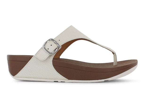 FITFLOP THE SKINNY WOMENS URBAN WHITE