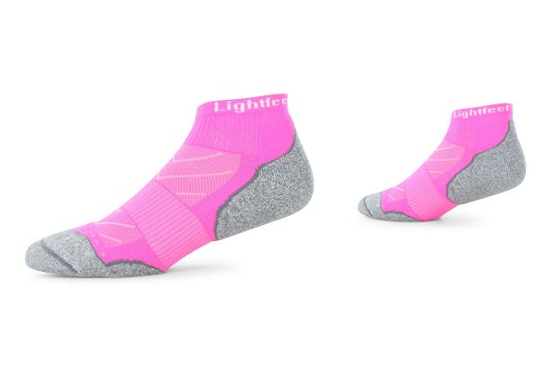 LIGHTFEET EVOLUTION MINI CREW FLURO PINK