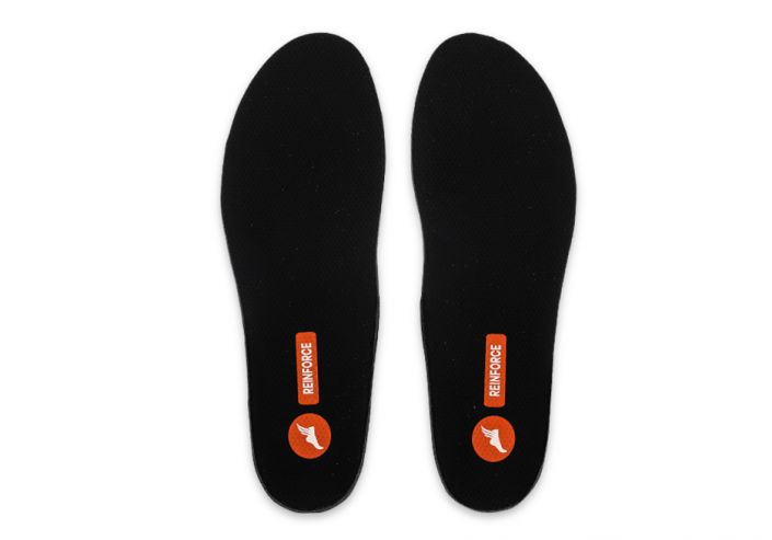 THE ATHLETES FOOT REINFORCE INNERSOLE BLACK ORANGE
