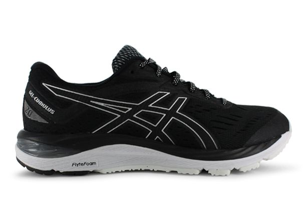 ASICS GEL-CUMULUS 20 MENS BLACK WHITE