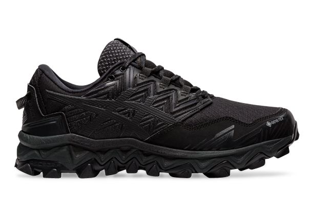 ASICS GEL-FUJI TRABUCO 8 GTX WOMEN BLACK