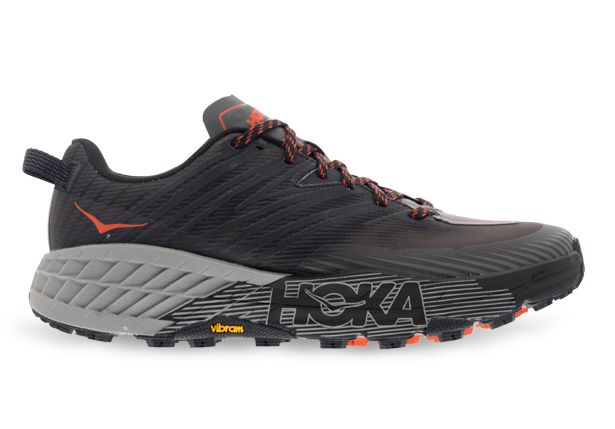HOKA ONE ONE SPEEDGOAT 4 MENS DARK GULL GREY ANTHRACITE
