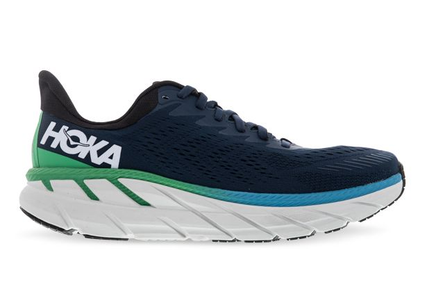 HOKA ONE ONE CLIFTON 7 MENS MOONLIT OCEAN ANTHRACITE
