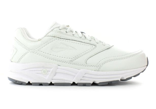 BROOKS ADDICTION WALKER WOMENS WHITE