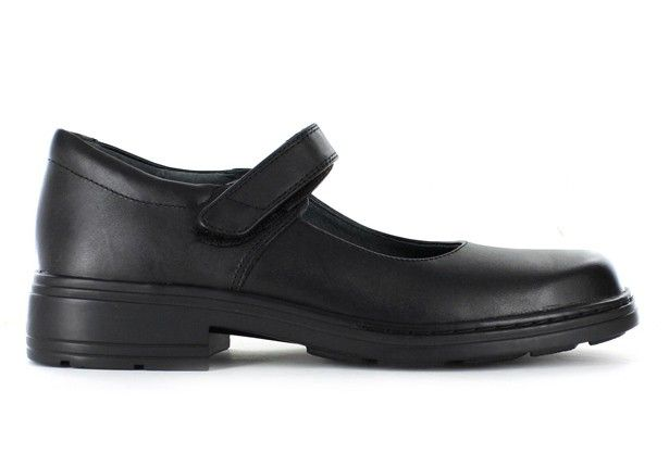 CLARKS INDULGE (WIDE) JUNIOR KIDS BLACK