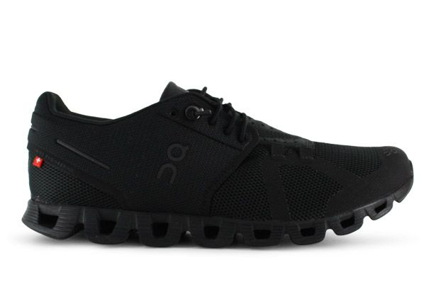 ON RUNNING CLOUD WOMENS ALL BLACK