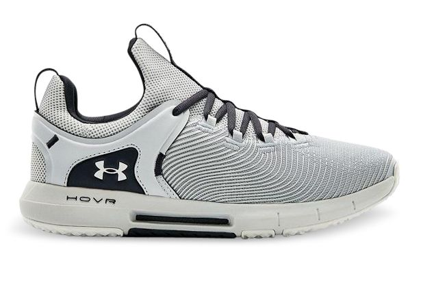 UNDER ARMOUR HOVR RISE 2 MENS HALO GRAY HALO GRAY WHITE