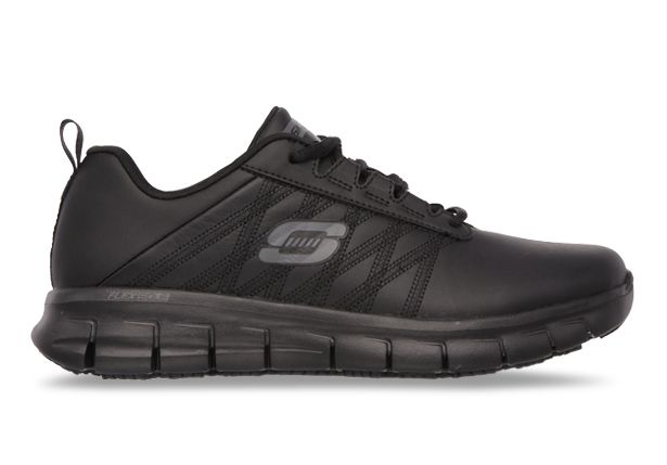 SKECHERS SURE TRACK ERATH WOMENS BLACK