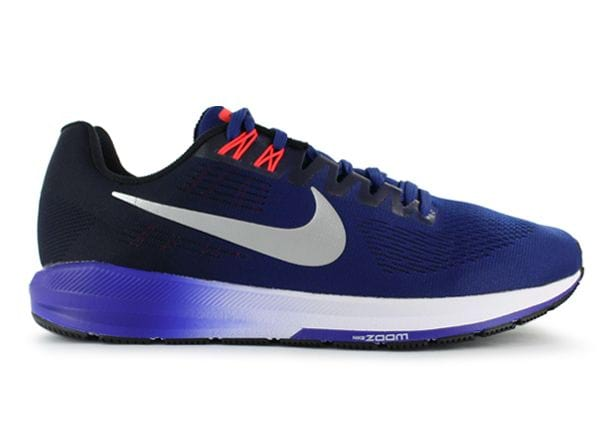 AIR ZOOM STRUCTURE 21 / MENS / DEEP ROYAL BLUE METALLIC SILVER-BLACK