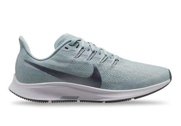 NIKE AIR ZOOM PEGASUS 36 WOMENS OCEAN CUBE COOL GREY-PURE PLATINUM