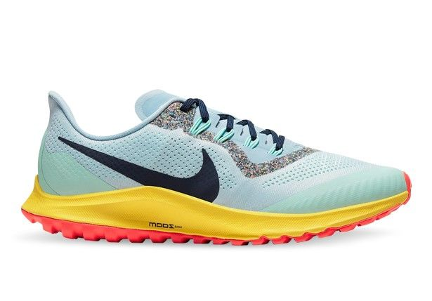 NIKE AIR ZOOM PEGASUS 36 TRAIL MENS AURA BLACKENED BLUE LT ARMORY BLUE