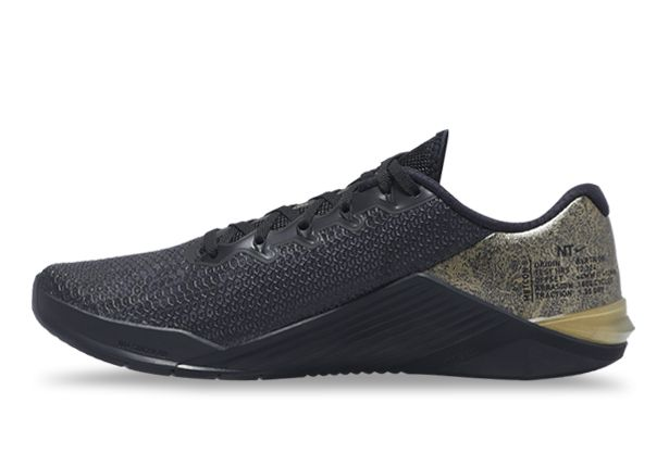 Nike Metcon 5 Gold Running Shoes | The