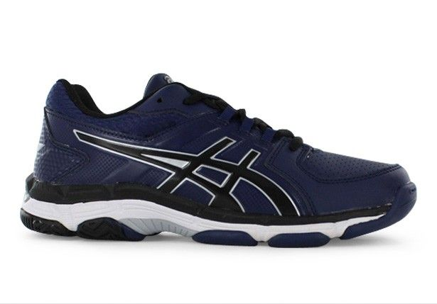 ASICS GEL-540TR LEATHER GS KIDS INDIGO BLUE BLACK