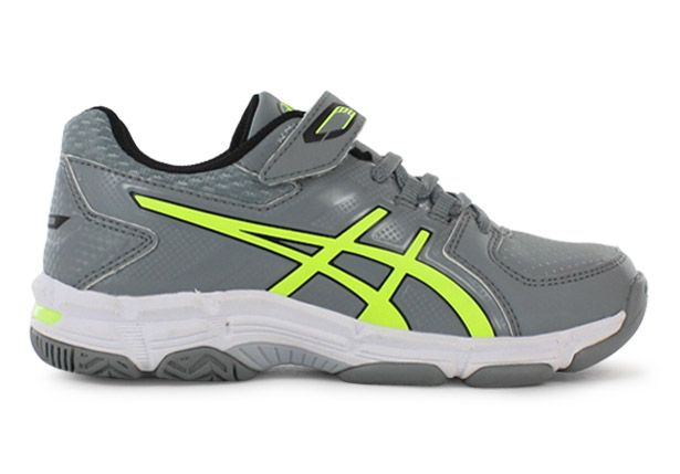 ASICS GEL-540TR LEATHER PS KIDS STONE GREY YELLOW