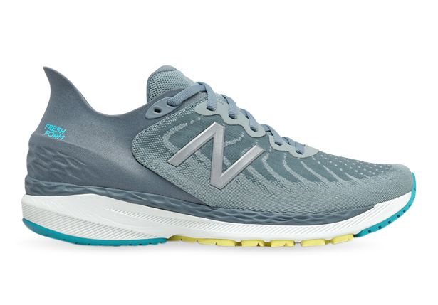 NEW BALANCE FRESH FOAM 860 V11 (4E) MENS SILVER BLUE