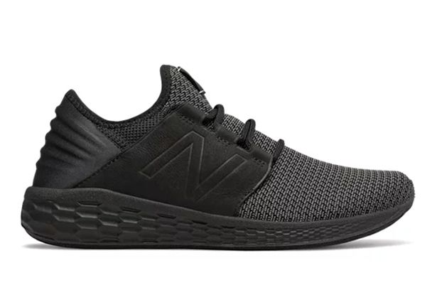 NEW BALANCE CRUZ V2 MENS BLACK MAGNET
