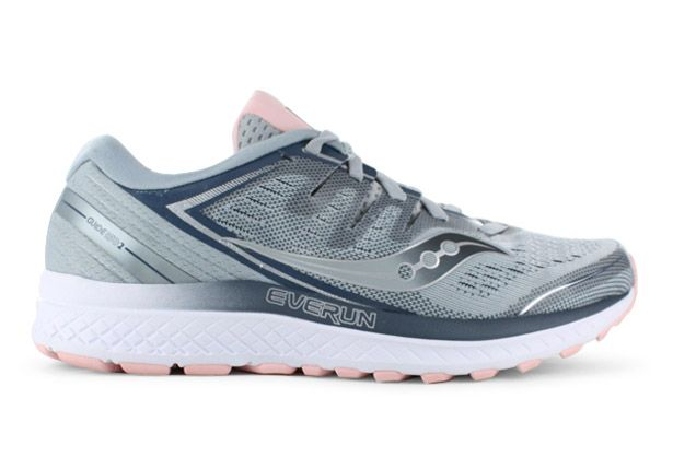 SAUCONY GUIDE ISO 2 WOMENS GREY BLUSH