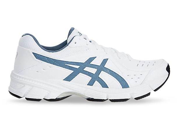 ASICS GEL-195TR (2E) MENS WHITE STEEL BLUE