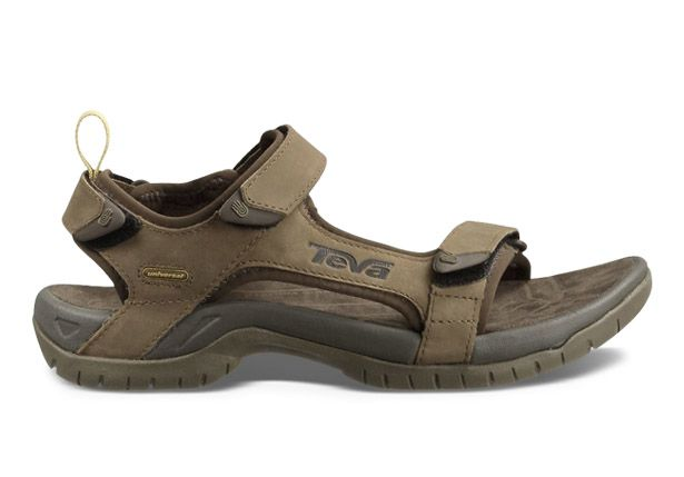 TEVA TANZA LEATHER MENS BROWN