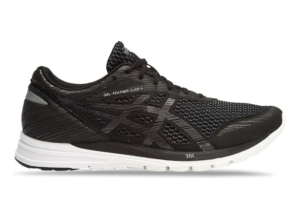 ASICS GEL-FEATHER GLIDE 4 MENS BLACK SHARK WHITE