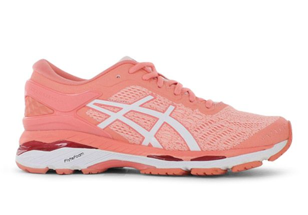 GEL-KAYANO 24 / WOMENS / SEASHELL PINK WHITE BEGONIA PINK