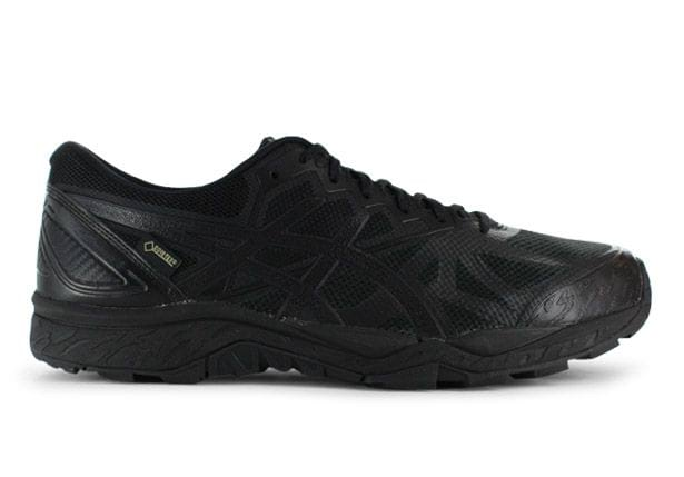 ASICS GEL-FUJI TRABUCO 6 GORE-TEX (2E) MENS BLACK BLACK PHANTOM