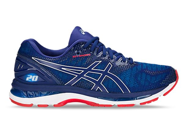 ASICS GEL-NIMBUS 20 MENS BLUE PRINT RACE BLUE