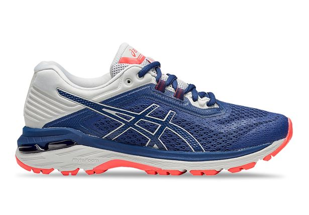 ASICS GT-2000 6 TRAIL (D) WOMENS DEEP OCEAN MID GREY