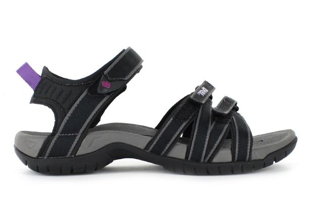 TEVA TIRRA WOMENS BLACK GREY