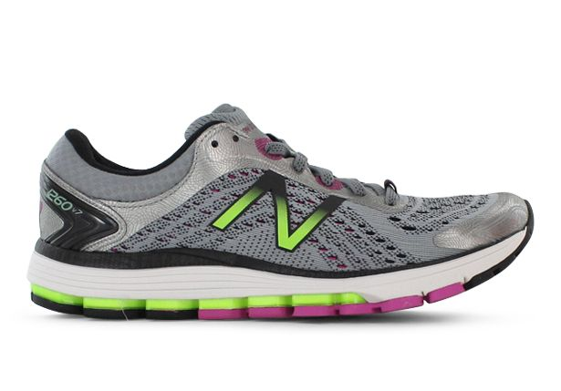 NEW BALANCE W1260 V7 (D) WOMENS DARK GREY PURPLE