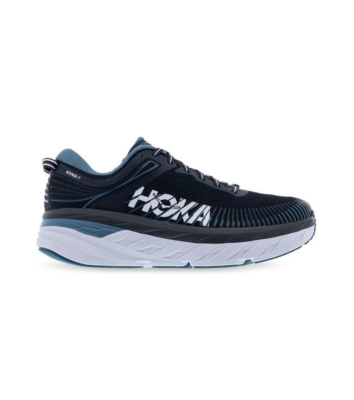 HOKA ONE ONE BONDI 7 (2E) MENS OMBRE BLUE PROVINCIAL BLUE