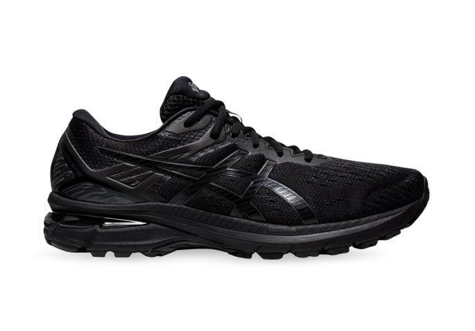ASICS GT-2000 9 (2E) MENS BLACK BLACK